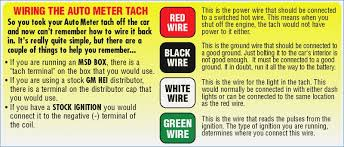 pro tach wiring diagram brainglue co