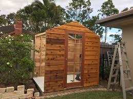 garden shed third panel