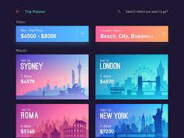 Tripplanner Com Trips App Trip Planner By Sourav Maity Dribbble Dribbble