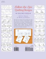 4: Follow-the-Line Quilting Designs Volume Four: Full-Size ... & 4: Follow-the-Line Quilting Designs Volume Four: Full-Size Patterns for  Blocks and Borders: Mary M. Covey: 9781564779830: Amazon.com: Books Adamdwight.com