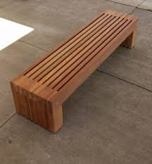 contemporary wood bench  furniture images for modern wooden