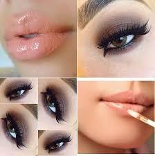 soft smokey eye makeup for brown eyes