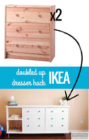 Ikea Chest Hack Double The Fun Ikea Rast Dresser Hack Dresser Storage And Ikea