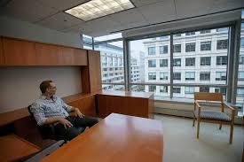 nixon office. Jeff Lesk, Office Managing Partner At Nixon Peabody, Sits In His Former N