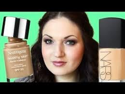 foundation battle nars sheer glow vs neutrogena healthy skin
