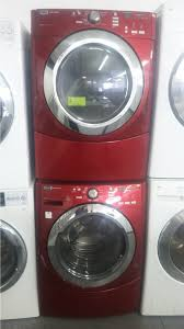 maytag 3000 series washer. Plain Series MAYTAG 3000 SERIES RED FRONT LOAD WASHER W GAS DRYER SET  Kimou0027s  Appliances Van Nuys Intended Maytag Series Washer S