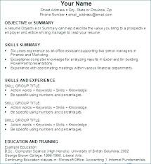 Example Of Making Resume Making A Good Resume In Past Or Present