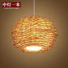 get quotations bird s nest creative personality hanging garden lighting lamps bar restaurant coffee balcony over the road weave