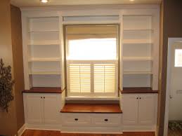 Built In Bench Built In Around Window With Bench Seat Create Toy Storage In