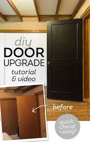 step by step guide on how to update your flat panel doors with just trim and