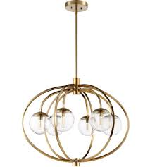 craftmade 45526 sb piltz 6 light 30 inch satin brass chandelier ceiling light