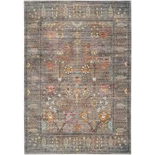 safavieh valencia gray multi 5 ft x 8 ft area rug