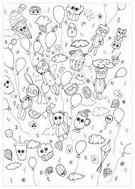 Panda 72097 Panda Disegni Da Colorare Per Adulti Con Unicorno Kawaii