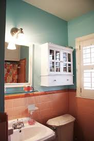 apartment bathroom colors. how to tone down (or play up!) pink vintage bathroom tile apartment colors e