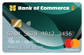 For approved credit card applications, the card will be delivered to the address you stated in the application form. Bank Of Commerce Credit Card