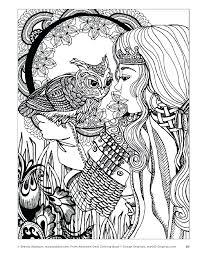 Coloring Pages To Color On The Computer Fantasy Myth Mythical