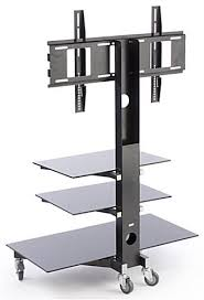 TV Stand With Mount For 65 Inch TVs 32 Black Inch Tv Stand D95