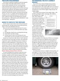 Michelin Rv Tires Guide For Proper Use And Maintenance Rv