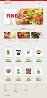 Asian Online Grocery Store Custom Website Design Food And Drink Foodfate Confucius Asian Food