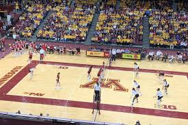 Wisconsin Badgers Volleyball Badgers March Into Minneapolis