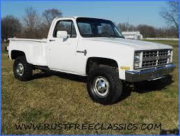 1985 85 K20 3/4 ton pickup 350 4x4 Custom Deluxe Stepside Chevy ...