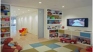 Cute Basement Playroom With TV (Photo 180 of 5360)