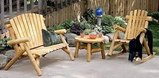rustic log furniture for cabin lodge