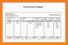 Free Printable Pay Stubs Forms Barca Fontanacountryinn Com