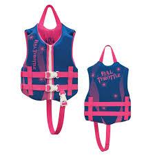 Full Throttle Life Vest Size Chart Full Throttle Rapid Dry Life Vest Child 30 50lbs Blue Pink 142100 500 001 16