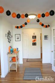 When you entered my home you could immediately tell we were ready to party.  The entry ceiling was adorned with a fun balloon garland.