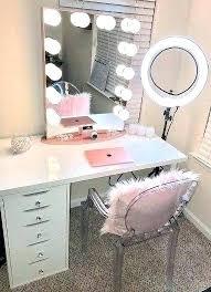Best lighting for makeup mirror Vanity Table Makeup Table Lighting Professional Makeup Table Lights Best Vanity Lighting Ideas On Tables Desk Professional Makeup Makeup Table Lighting Zappyshowcom