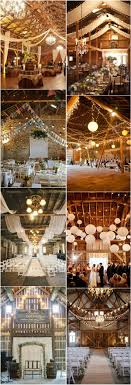wedding reception lighting ideas. Rustic Barn Wedding Ideas- Country Decor Ideas Reception Lighting