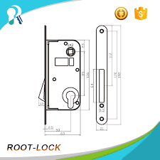 perfect design cx8500c a frameless glass door magnetic lock