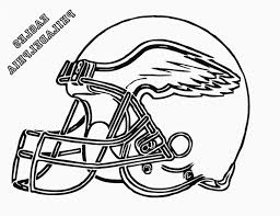 Nfl Helmet Coloring Pages Coloring Home For Nfl Coloring Helmets