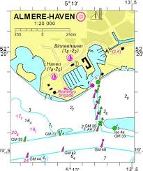 Nautical Charts Netherlands 18103d Almere Haven Marine Chart Nl_18103d Nautical