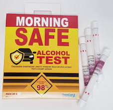 Morning Safe Alcohol Test Double Pack 4 Tests