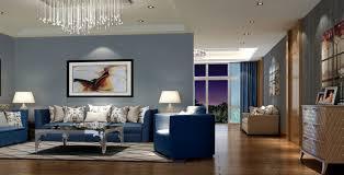Aqua Blue And Charcoal Gray Living Room Design  For The Home Blue And Gray Living Room Ideas