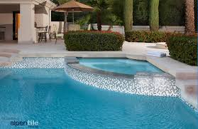 alpentile glass mosaic swimming pool designs alpentile glass tile pools and spas