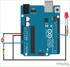 Ldr Circuit Diagram For Street Light Arduino Light Sensor Circuit Using Ldr
