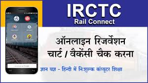Indian Railway Reservation Chart How To Check Railway Reservation Chart Online Using Irctc Rail Connect App Hindi