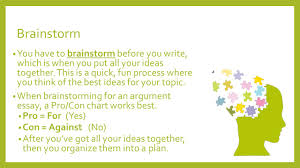 argument essay writing ppt video online 6 brainstorm
