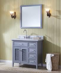 37 inch bathroom vanity. ariel kensington (single) 37-inch transitional bathroom vanity set with sink on right or left - grey 37 inch a