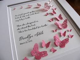 Too Beautiful For Earth Quote Best of Too Beautiful For Earth Personalized 24D Butterfly Art YOUR