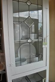 white leaded glass cabi sobo style window pane cabis replacement panels stained door design for cabinet