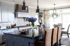 transitional kitchen lighting. Impressive Transitional Kitchen Island Lighting Visual Comfort With Blue Cabinets N