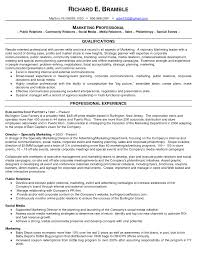 Cover Letter Public Relation Director Resume Public Relations