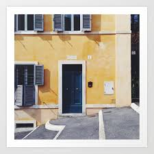italy rome print travel wall art home decor set of 4 prints square prints art print
