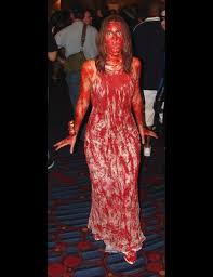 good homemade horror movie ideas. carrie halloween costume ~ easy to do \u0026 so ghoulishly great! #etsyvintageteam #carrie good homemade horror movie ideas