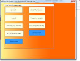 Inventario Excel Macro Control De Inventarios En Excel Gratis
