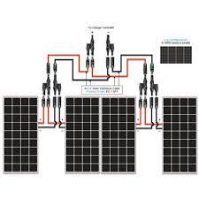 renogy 400w monocrystalline starter kit solar power for Renogy Wiring Diagram renogy 400w monocrystalline starter kit renogy wiring diagrams